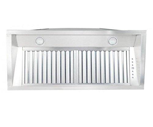 """Z Line 695-304-28 28"""" 900 CFM Outdoor Range Hood Insert in Stainless Steel -  ZLINE Kitchen and Bath"""