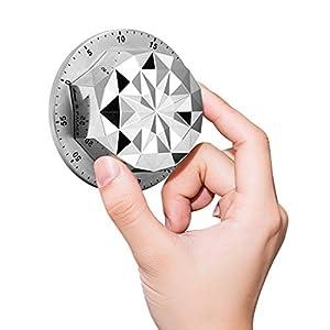peinat Timer da Cucina da 60 Minuti, Conto alla rovescia Magnetico, Timer Meccanico, Professionale Timer Cucina per Il… 13
