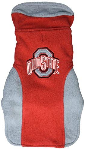 (Collegiate Ohio State Buckeyes Dog Fleece Vest,)