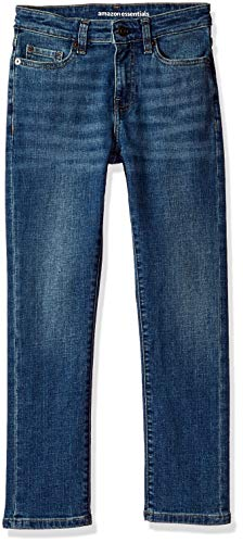 Amazon Essentials Little Boys' Slim-Fit Jeans, Everest Medium Wash,7