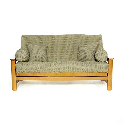 - LS COVERS BREEZY POINT FULL FUTON COVER, Full Size Fits 6-8in Mattress, 54 x 75 Inch