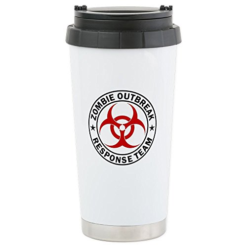CafePress Outbreak Response Stainless Insulated