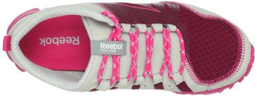 Reebok Real Flex Move Ii Walking Shoe Triple Pink/Candy Pink/Steel VaJsL