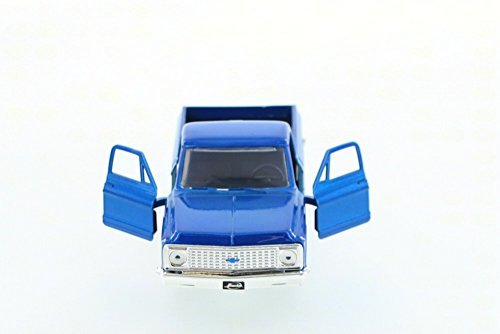 1972 Chevy Cheyenne Pickup Truck, Blue - Jada Toys Just Trucks 97009 - 1/32 scale Diecast Model Toy Car
