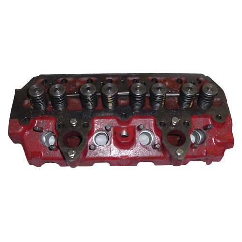 Cylinder Head - with Valves International 3043824R12 444 424 2424 354 384 B414 364 B275 500 2300A 434 276 TD5 - Head Nos Cylinder