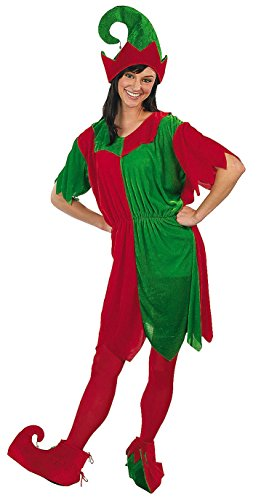 Women's Elf Costume - One Size - Christmas Costumes & Accessories