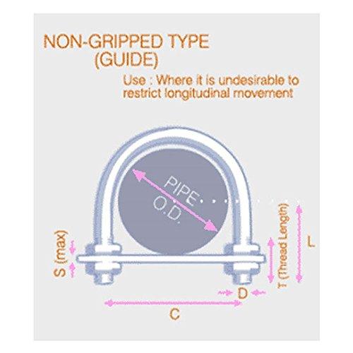 29mm interno Diam 1 82 millimetri allinterno di confezioni in acciaio inox T304 di altezza filo di 60mm Cavallotto M6