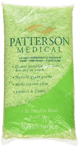 Performa Paraffin Wax Refills, Wintergreen Scented Beads, Case of 6, 1 Pound Low-Melt Beads with Aromatherpy Oil Scent, Medical Grade Wax for Paraffin Bath, Heated Wax for Hands, Feet, Arthritis by Performa