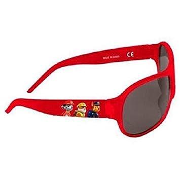 Patrulla Canina - Gafas de Sol 100% UV, color Rojo.: Amazon ...