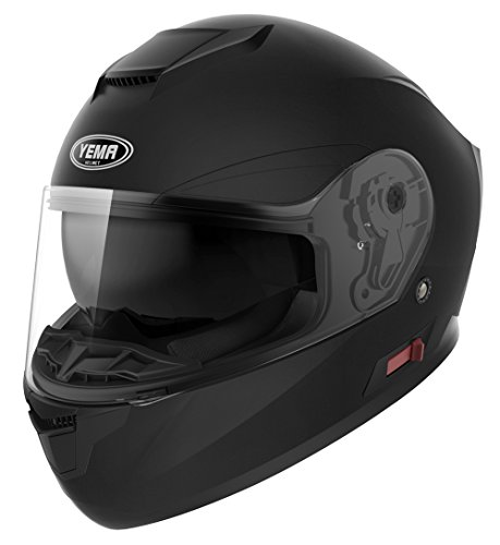 Motorcycle-Full-Face-Helmet-DOT-Approved-YEMA-YM-831-Motorbike-Moped-Street-Bike-Racing-Snowmobile-Crash-Helmet-with-Sun-Visor-for-Adult-Men-and-Women
