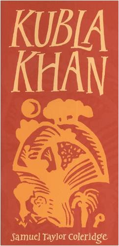 Book cover for Kubla Khan