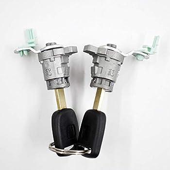 New Genuine Honda CR-V Element Driver Side Door Lock Cylinder w// Keys left OEM
