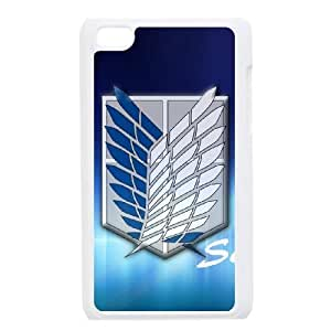 Ipod Touch 4 Phone Cases Cartoon Attack On Titan Durable Design Phone Case TTYW192747