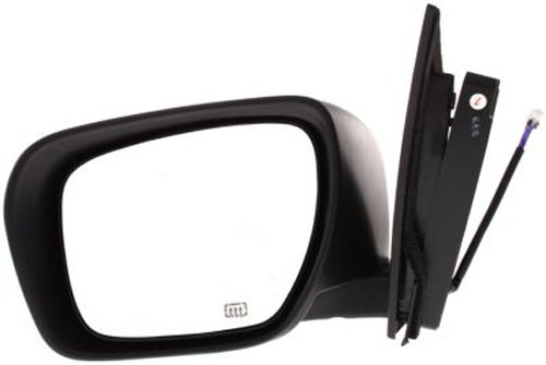 Partslink Number MA1320154 OE Replacement Mazda Cx7 Driver Side Mirror Outside Rear View