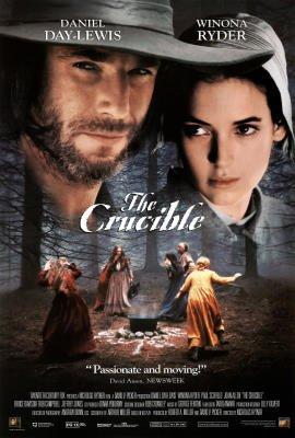 The Crucible Movie Daniel Day Lewis Winona Ryder Original Poster Print