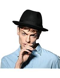 2cf015081a5 Men s 100% Pure Wool Classic Manhattan Trilby Dress Fedora Hats