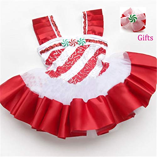 HeroStore Ballet Dress for Girls ren Dance Costumes Clothes s Dresses Gymnastics Tutu Leotard Girl Red Dancewear Ballet(Send Gift)