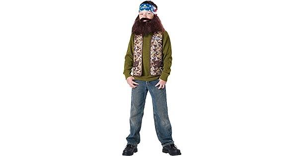 Amazon.com: Duck Dynasty Willie para niño, Un solo ...