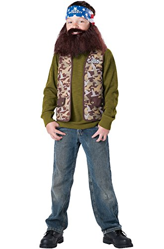 Duck Dynasty Willie Child Costume, Size (Willie Costume Duck Dynasty)
