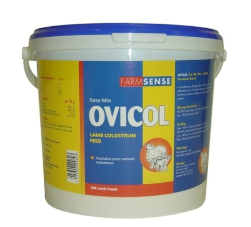 Farmsense Ovicol Natural Colostrum Supplement for Lambs x Size  2.5 Kg