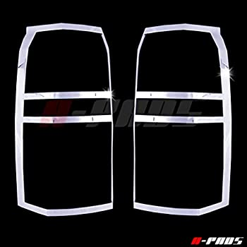 Taillights Lights PAIR A-PADS Chrome Tail Light Covers for Chrysler 300 300C 2005 2006 2007