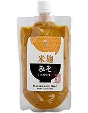 Miso Paste Malted Rice, Handmade in Kyoto Japan 300g(10.58OZ),Non-GMO,Non-MSG