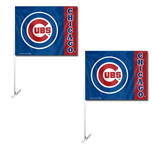 (Official Major League Baseball Fan Shop Authentic MLB 2-pack Car Window Flags. Show Team Pride with these 11.5