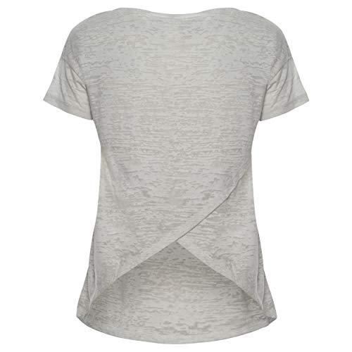 T Freddy Con White Sul I35cd Retro Paillettes Lily Glitter shirt Aperta E Scritta ddxrB