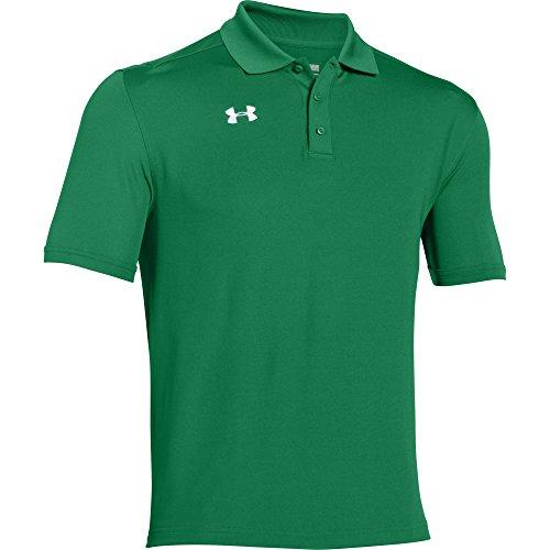 Under Armour Team Armour Men's Golf Polo (Team Kelly Green, (Mens Golf Green)