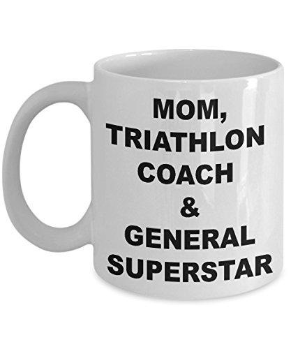 Triathlon Coach Coffee Mug – Gift for Mom, Triathlon Coach and General Superstar -