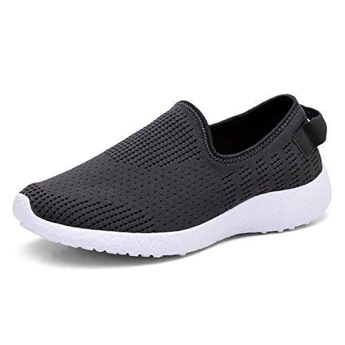 TIOSEBON Men Go Easy Running Sneakers 8255 Darkgray