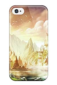 Hot DFwRzdX524EpCoY Trine 2 Tpu Case Cover Compatible With Iphone 4/4s