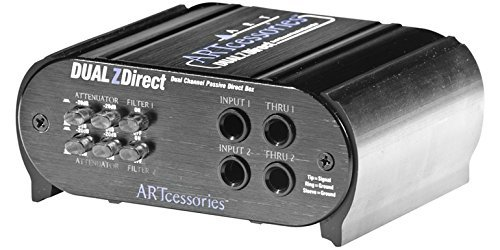 - ART DUALZDirect 2-channel Passive Direct Box