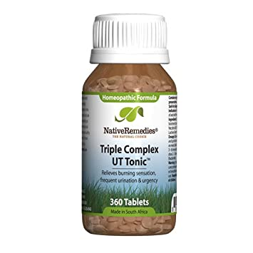 Amazon com: Triple Complex UT Tonic for Bladder Irritation