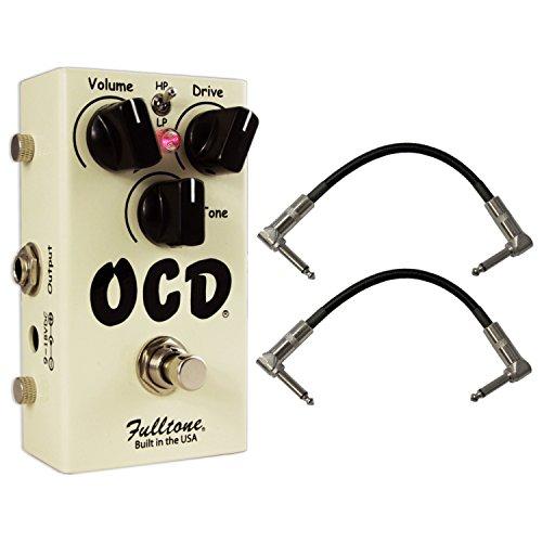 Fulltone Ocd Pedal (Fulltone OCD Obsessive Compulsive Drive Version 2.0 OD/Distortion Pedal w/ 2 Pat)