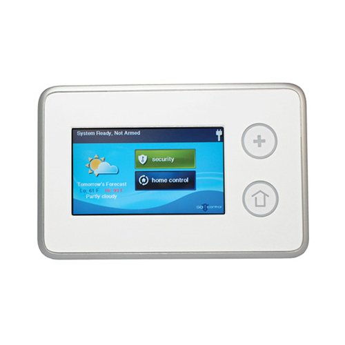 2gig TS1 Wireless Touch Screen Keypad (White)