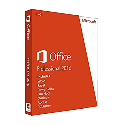 Office Professional 2016 For Windows | English Language | Final Sale