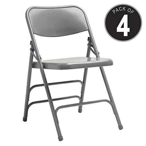 (Samsonite 49751-1408 2700 Series Folding Chairs, Gray)