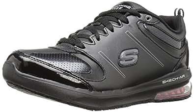 Skechers Work Women's lingle Work Shoe,Black,5 M US