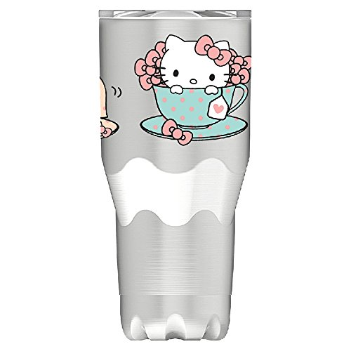 Vandor 18109 Hello Kitty 30 Oz. Stainless Steel Travel Mug, Multicolored