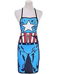 Favor (Captain America) Cooking Apron Funny Novelty BBQ Party Apron Naked Men Women Sexy Rude Cheeky Kitchen Cooking... deal