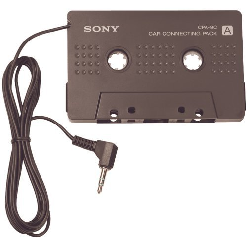 Cassette Tape Adapter (Walkman Car Connecting Pack for MD Walkman and CD Walkman (Model# CPA-9C))