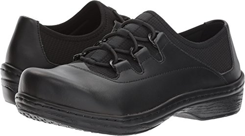KLOGS USA Tralee Slip Ons Black Smooth 9 M by Klogs