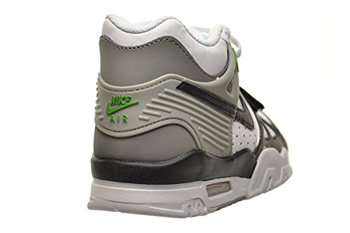 low priced ee4c5 4de12 Amazon.com  Nike Air Trainer 3 (GS) Big Kids Shoes White Black-Chlorophyll-Medium  Grey 344950-100 (7 M US)  Shoes