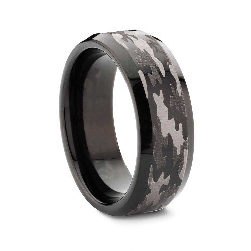 King Will Tungsten Camouflage Engagement