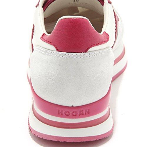 HOGAN XL donna women shoes Bianco scarpa H222 7106F NUOVO sneaker Fucsia SPORTIVO C5x0qHgXw