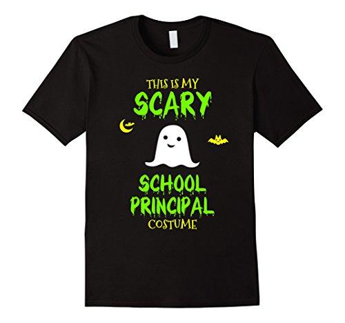 Mens Scary School Principal Costume Halloween T-Shirt XL Black - School Principal Halloween Costume