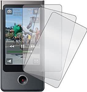 2x Sony Bloggie Touch MHS-TS20/TS10 4GB 8GB Digital Video Camera Pocket Camcorder Premium Clear LCD Screen Protector, no cutting is required! Exact fit and satisfaction guaranteed!