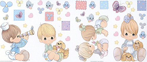 Priss Prints Precious Moments Jumbo Wall Decor Stick-Ups