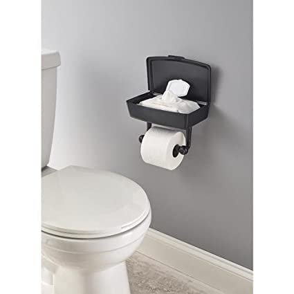 Amazon.com: Delta Porter Oil-Rubbed Bronze Toilet Paper Holder with Mobile Phone Storage: Home & Kitchen